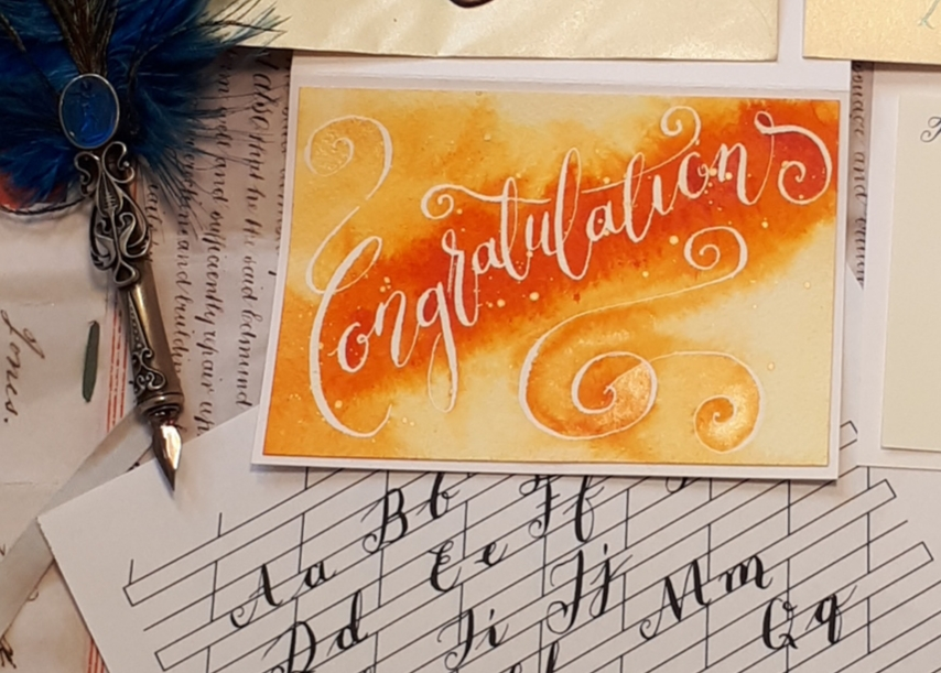 Modern Calligraphy: New Ink Resist for Beginners and Improve Your Style and Flair - 3 Night : Jane Lappage