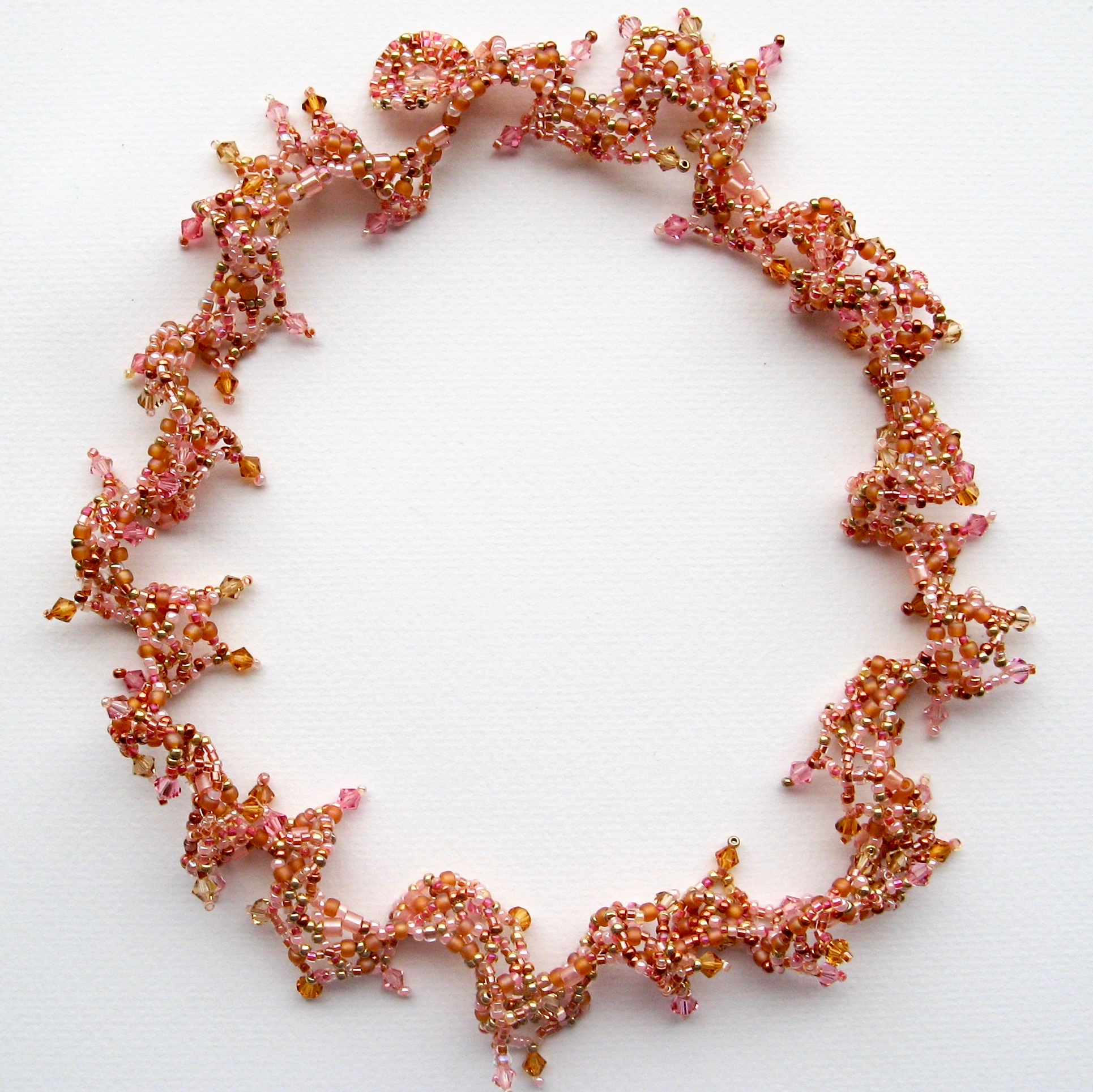 Bead Weaving Lacy Effects for Jewellery : Sally Boehme