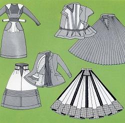 Fashion History: 40's Blitz and 50's Glitz : Fran Saltmarsh