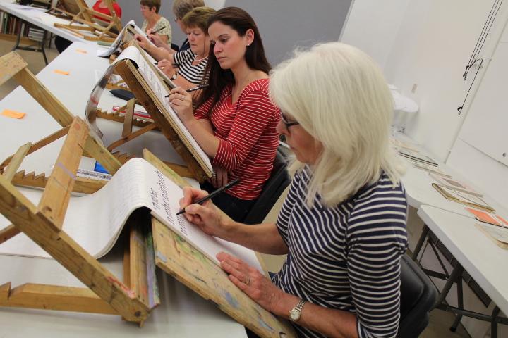 Calligraphy - Day School : David Nicholls