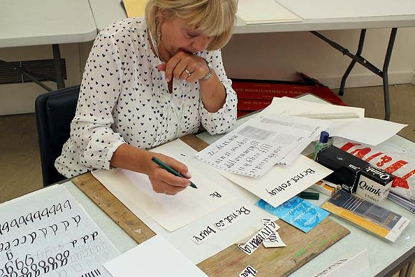 Calligraphy: Working in Italics : David Nicholls