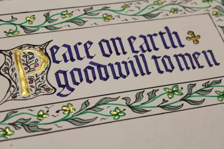 Calligraphy for Christmas (WS) : David Nicholls
