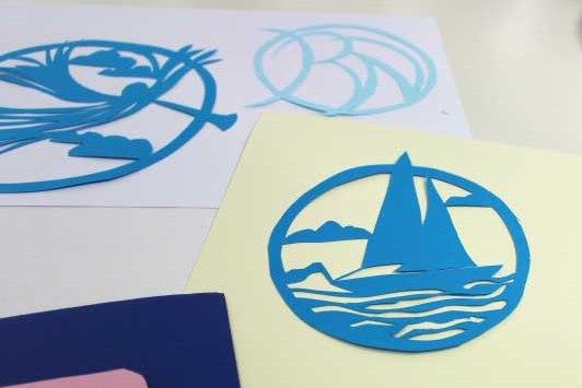 Creative Papercutting 3D - Day School : Christine Green