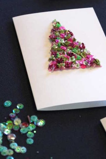 Ribbon Embroidery: Christmas Cards: 2 Nights: Marilyn Pipe
