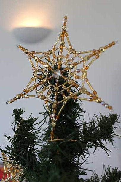 Beaded Decorations for Christmas : Sally Boehme