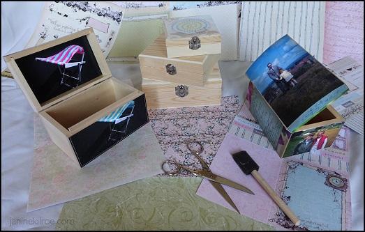 An Introduction to Decoupage: A Trinket / Keepsake Box and more - 2 Night : Janine Kilroe
