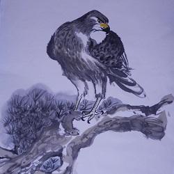 Chinese Brush Painting: Predators and Prey : Jean Turton