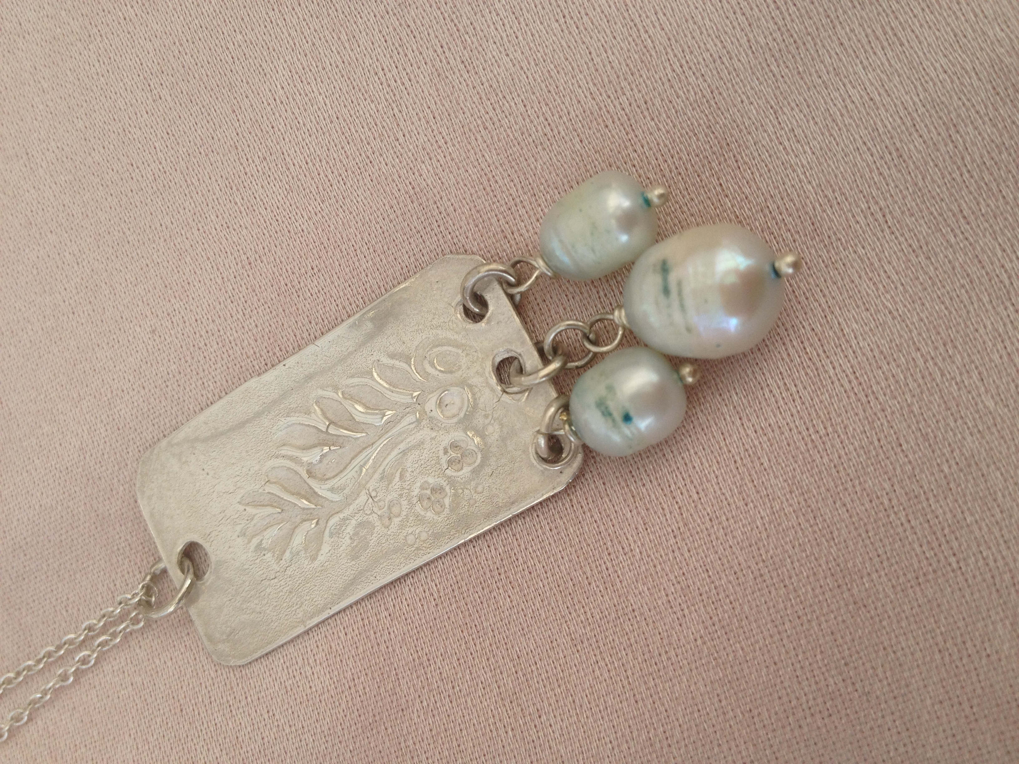 Silver Clay Jewellery with Freshwater Pearls - Day School : Louise Simmonds