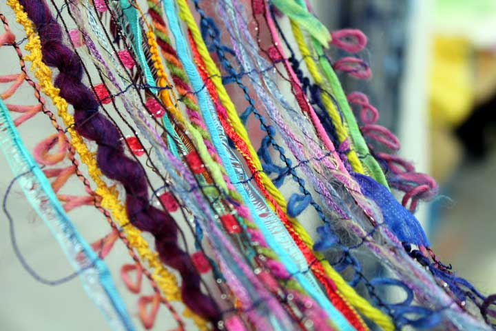 Textiles: Stunning Scarves on Soluble Fabric : Marilyn Pipe