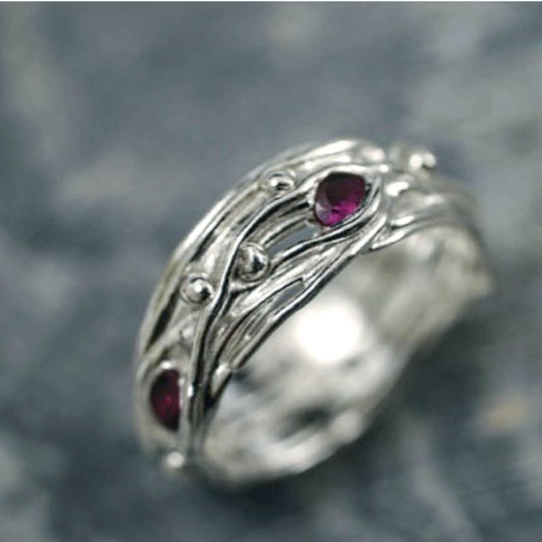 Silver Clay Rings : Melanie Blaikie