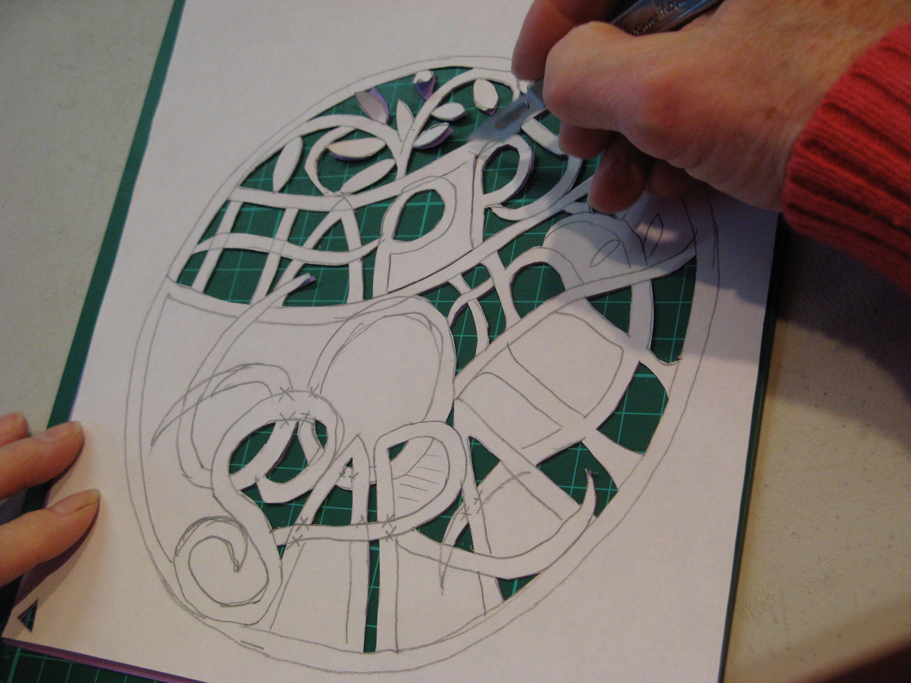Creative Paper Cutting - Day School : Christine Green
