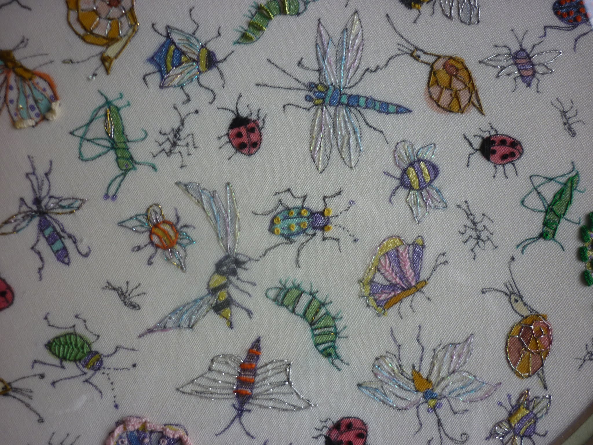 Hand Stitch a Natural Collection: Bugs and More - 2 Night : Trish Zachariah and Paula Bray