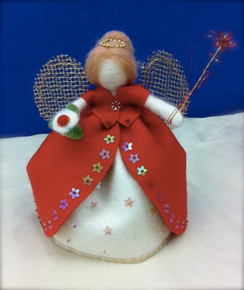 Heirloom Christmas Fairy : Natalie Green